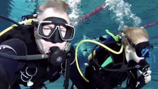 Pierwsze lekcje nurkowania Dzieci sezon 2016 2017