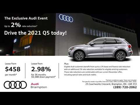 The Exclusive Audi