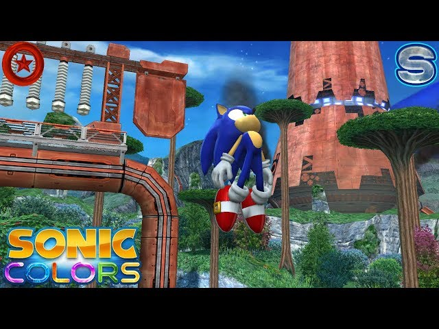 Sonic Colors (Wii) [4K] - Planet Wisp Act 1-6 (All Red Rings + S-Ranks)