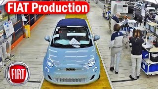 FIAT Production - 500e, 500, Tipo, Cronos, Ducato, Panda