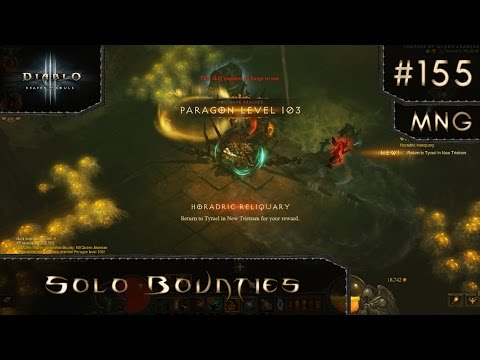 Diablo 3 Reaper of Souls Season 6 - HC Barbarian (MNG #155)
