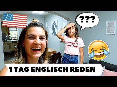1 TAG NUR ENGLISCH REDEN 😂🇺🇸| TBATB