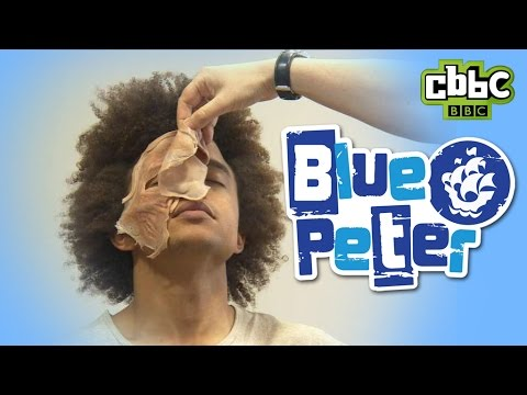 Harry Potter Special Effects Make Up | Blue Peter | CBBC