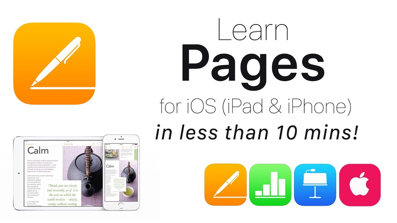 complete pages for ios tutorial full quick class guide extras