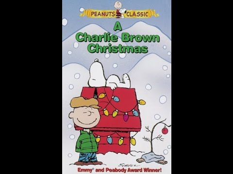 A Charlie Brown Christmas Vhs.Opening To A Charlie Brown Christmas 1996 Vhs