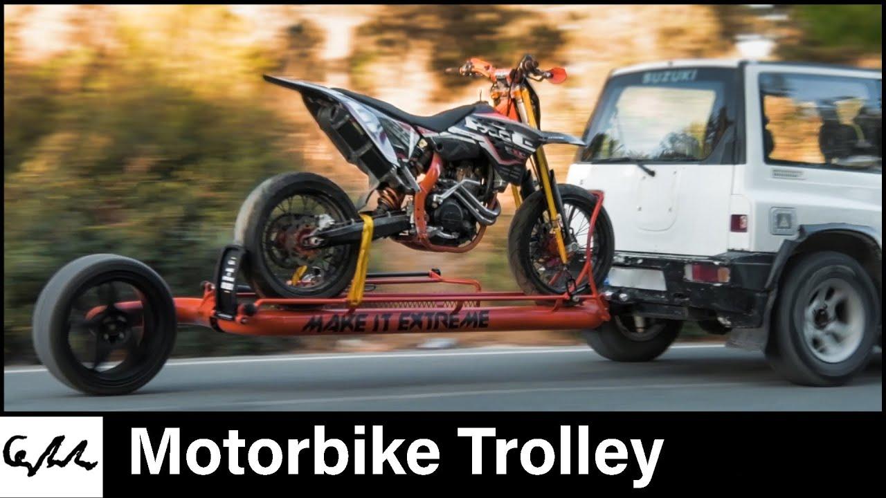 Make it Extreme's motorbike trailer
