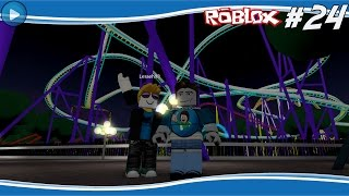 MOST DANGEROUS ROLLERCOASTER EVER! -ROBLOX #24