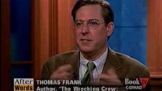 The Wrecking Crew (4), CSPAN, Thomas Frank