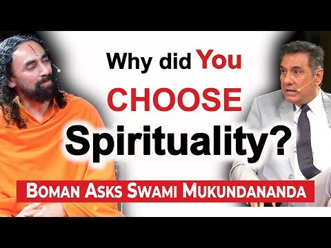 Boman Irani Asks Swami Mukundananda: Why Did You Give Up Your Corporate Career?
