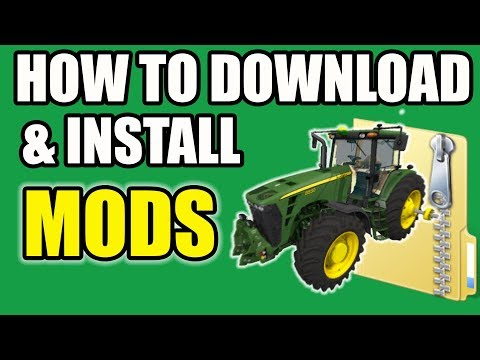 HOW TO DOWNLOAD & INSTALL MODS ON FARMING SIMULATOR 2017