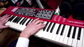 クラムボン、シカゴのピアノパートを音取りしました。 左手はオクターブ...