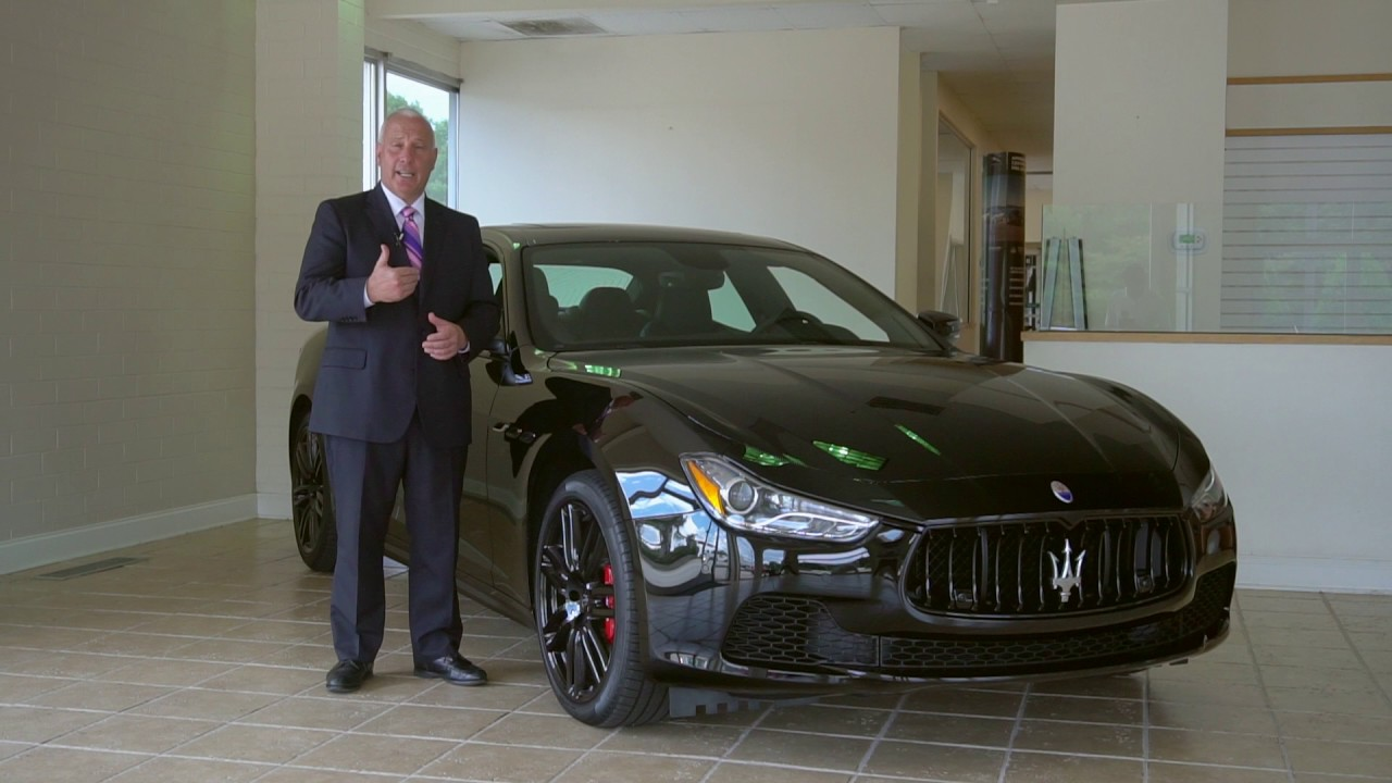 maserati ghibli nerissimo edition - youtube