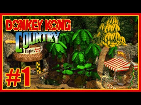 Guía 101% Donkey Kong Country   SNES   #1: Kongo Jungle