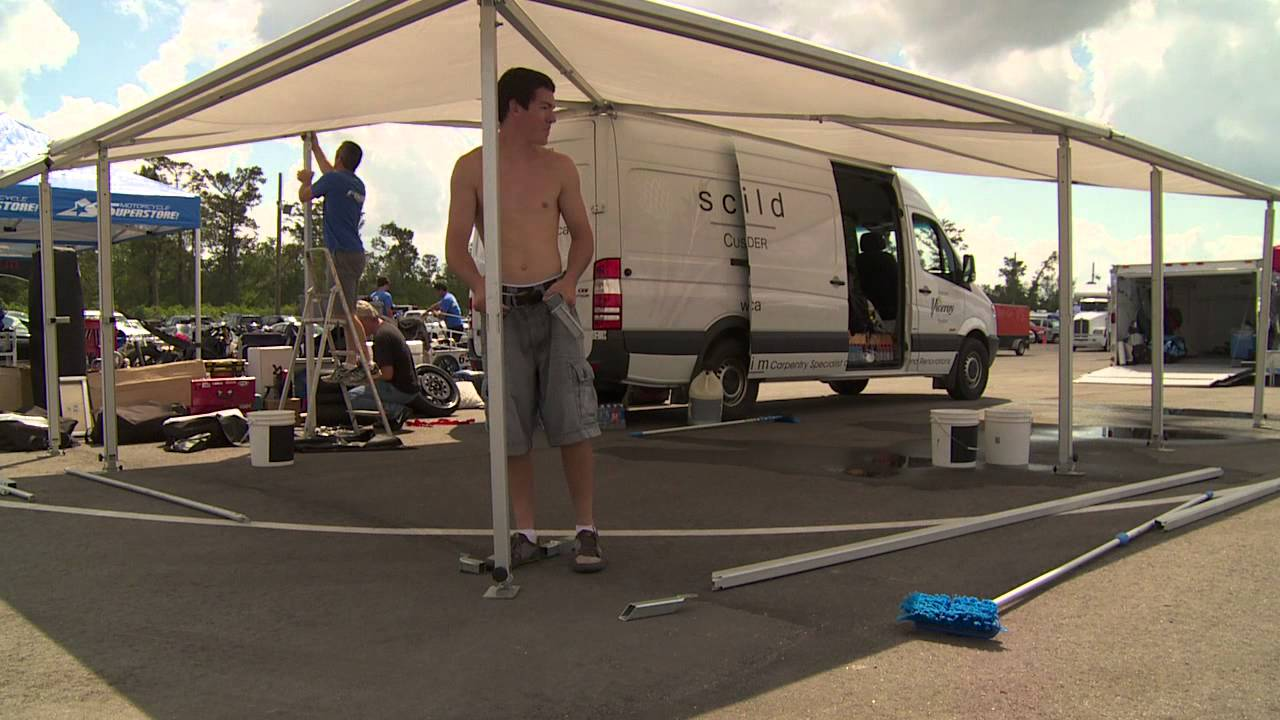 BYR FOGI Racing Paddock Setup