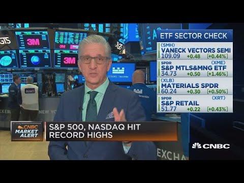 Stocks rise at open, extending market's record run