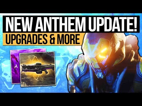 Anthem Update   NEXT REVEAL & EA LOOT BOX PROMISE! Character Upgrades, Loot System & Live Updates!