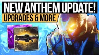 Anthem Update  NEXT REVEAL  EA LOOT BOX PROMISE Character Upgrades Loot System  Live Updates