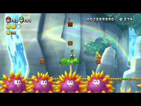 New Super Mario Bros U - 100% Walkthrough Co-op - Parte 06 di 22