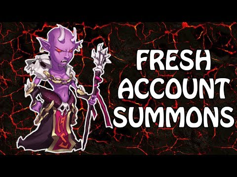 IDLE HEROES - FRESH ACCOUNT #2 - EARLY GAME SUMMONS!