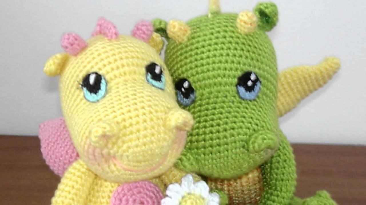 амигуруми схема дракона игрушки вязаные крючком Free Crochet
