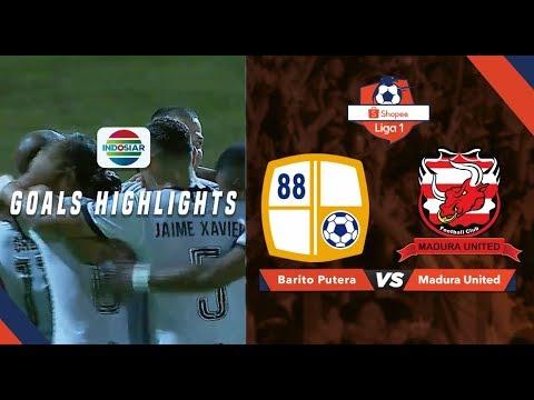 Barito Putera (0) Vs Madura United (1) - Goal Highlights | Shopee Liga 1