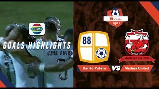 Barito Putera (0) vs Madura United (1) - Goal Highlights | Shopee Liga 1