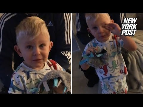 Showbiz Shelly - Little Boy Cries After Seeing All His Birthday Presents