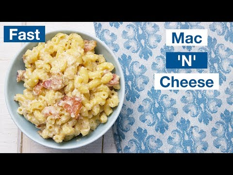 Fast Easy Bacon Mac'N'Cheese Recipe || Le Gourmet TV Recipes