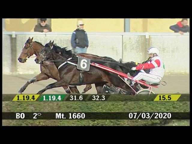 2020 03 07 | Corsa 2 | Metri 1660 | Premio Gentlemen for Life