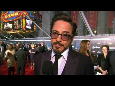 'The Avengers' Premiere at El Capitan Theater in Hollywood
