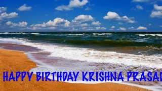 KrishnaPrasad   Beaches Playas - Happy Birthday