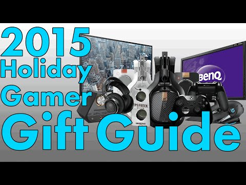 2015 Holiday Gift Buyer's Guide for Gamers by a Gamer | PC PS4 Xbox One