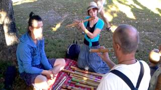 Аха Премдамс и Уроки Игры на Флейте. video 2015 08 21 17 26 31