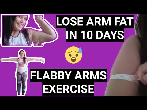 DAY 1- LOSE ARM FAT in 10 DAYS / FLABBY ARMS EXERCISE / ARMS WORKOUT / Maria Nilda Mativo