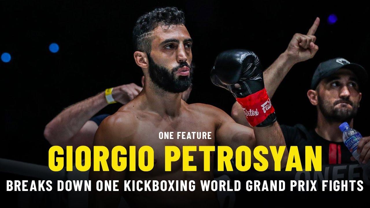 Giorgio Petrosyan Breaks Down ONE Kickboxing World Grand Prix Fights | ONE Feature
