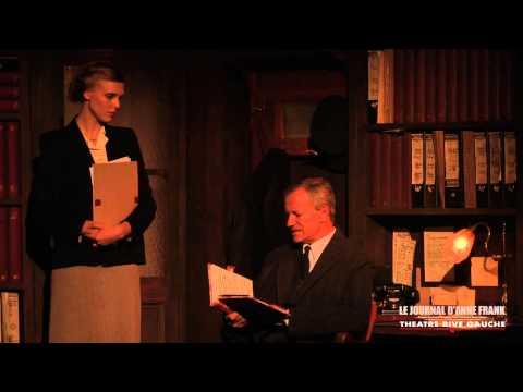 Le journal d'Anne Frank au Theatre Rive Gauche