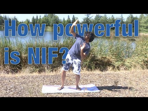 How powerful is the NIF laser?