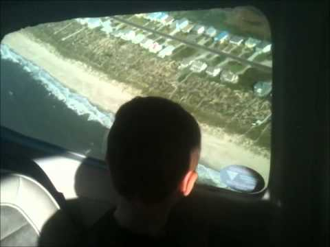 Southport North Carolina Long Beach Rd Jetport Flyby Youtube