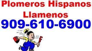 Plomeros de habla hispana en Riverside Ca | Plomeros hispanos eficaces en Riverside Ca