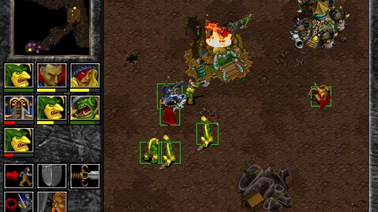 warcraft 2 orc clans