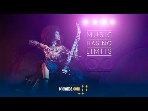 Music Has No Limits   vídeo promocional - entradas.com