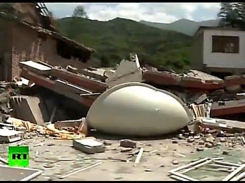 Землетрясение в Китае: более 160 погибших (НОВЫЕ КАДРЫ)