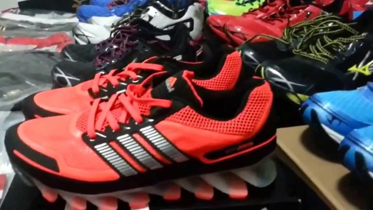the latest 2bd14 589af Mizuno Wave Prophecy 2 e Adidas Springblade - FeraXshop