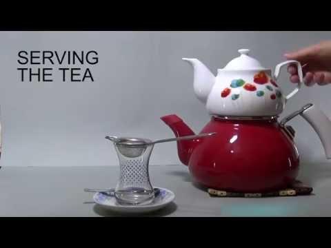 How to make Turkish black tea