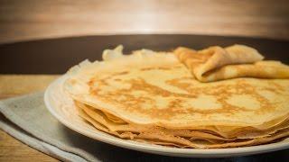 Тонкие блинчики на молоке - Идеальный рецепт - Вкусные блины - Рецепт (Всем Bon Appetit)
