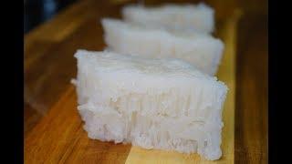 超详细简单白糖糕/伦教糕做法(冰糖版本)Chinese Dessert#1 Rice Sponge  Cake