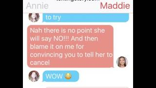 Annie Leblanc ask Maddie Ziegler is she is ok 👌