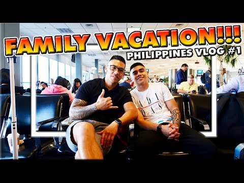 PHILIPPINES VACATION VLOG | PART 1 | TRAVEL DAY...