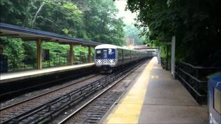 500th Video!: Metro-North Harlem Line Trains at Scarsdale