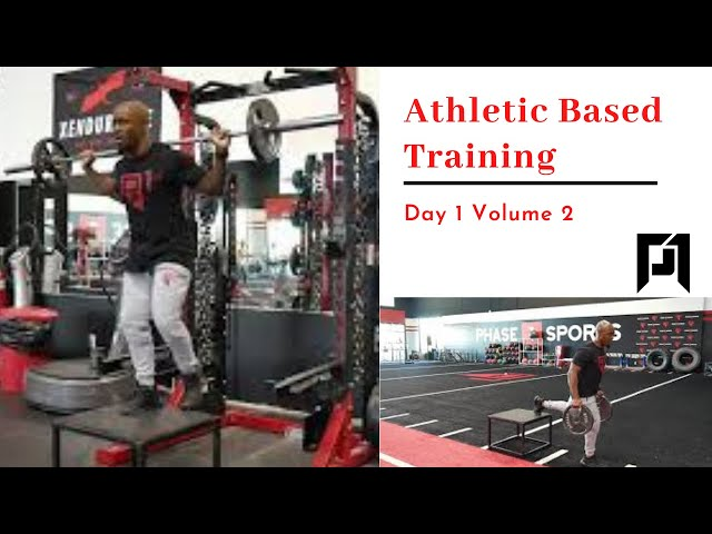 ABT- Athletic Based Training: Day 1 Volume 2-2021